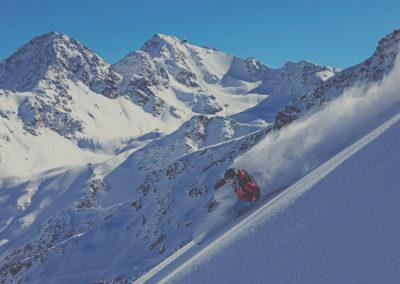 Ski like a spy