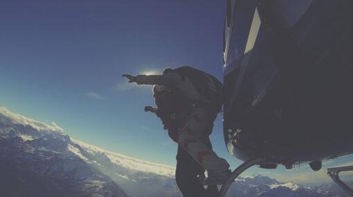 skydive verbier