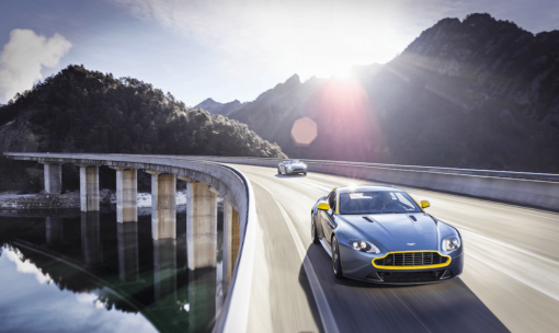 Aston martin test drive low res