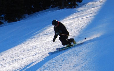 Learn to Telemark at night