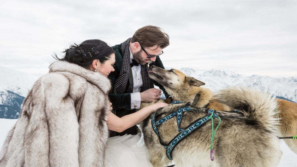 Why this is the last year for dog sled trips in Verbier?