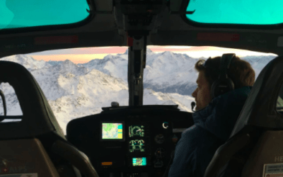 FOR THE BEST VIEW OF THE ALPS – TAKE A PANORAMIC HELICOPTER FLIGHT OVER SPECTACULAR ALPINE PEAKS