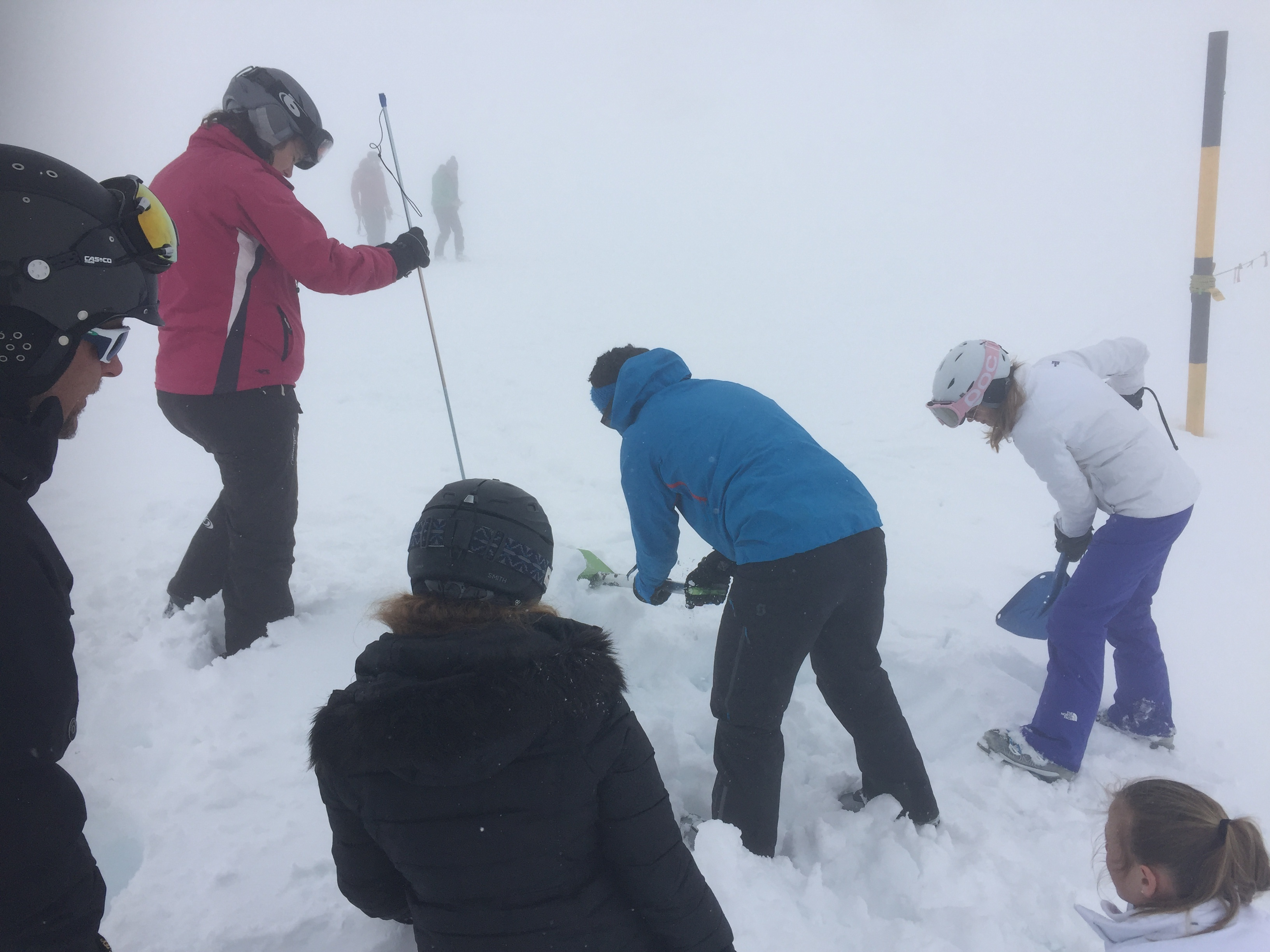avalanche awareness in verbier