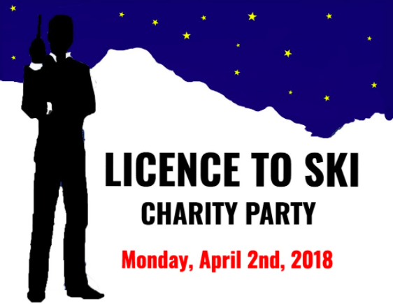 Licence to Ski Charity Party at L'Étoile in Verbier on April 2nd 2018